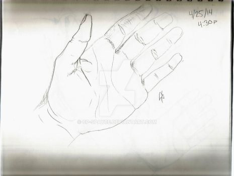 Hand 1 by CP-spayce