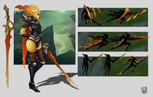Infernal Fiora by variant844
