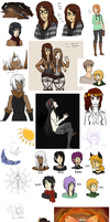 Art Dump December 2013 by oofuchibioo
