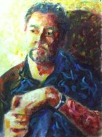 Self portrait Van Gogh style by meeart