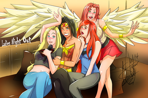 Ladies Night Out by ManniManu-Z