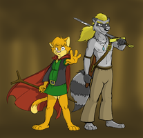Jacob and Waschbaer by WinDasH