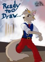 Ready to Draw by SilverwolvesForever