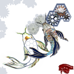 Reflections of a Steampunk Koi by EyeOfRaux