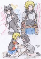 RWBY's Fanfic : Shadow Of the White Fang Fanart by KegiSpringfield