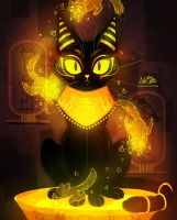 Bastet - the Goddess of Cats by LilaCattis