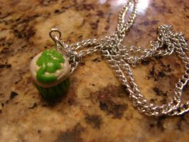St. Patty's necklace by Iwasonceafairytale