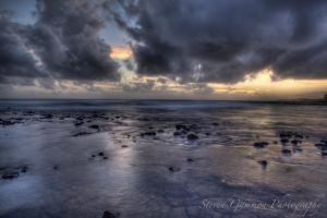 Dramatic Sunset by Steve2008