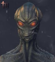 Alien_Portrait by tawryk