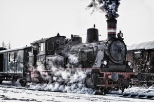 Last train to christmas by abuethe