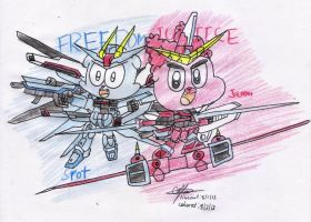 Spot and Jason - Freedom and Justice by murumokirby360