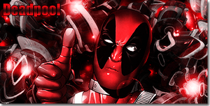 Deadpool Signature by Shen-Woo