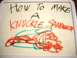 How to make a Knuckle Sandwich by dragontamer272
