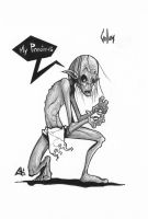 Gollum by G-Chris