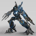 Autobot Bluestreak Concept by vshen