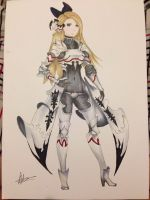 Edea (Bravely Default) by Sundaystreason