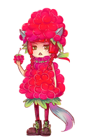 Mixed Delight: O.C little Rasp by keerou