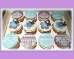 Butterflies and Lace Cupcakes by gertygetsgangster
