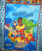 Super Hero Quilt by lights-above