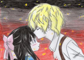 Mad Father Aya x Dio by I-Love-Ghost-Writer