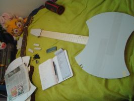 ::AT:: WIP Marceline's Ax Bass by NaKaya