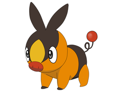 Tepig by HeartPM