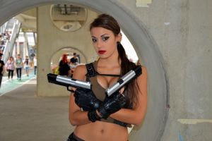 La miglior Lara Croft del Romics by KillerGio