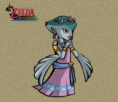 ::Wind Waker:: Princess Ruto by hikolol35