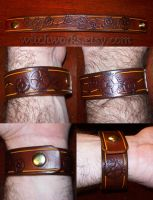 Steampunk Snap Wristband by Steampunked-Out