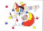 Mascot contest entry: Artie the cat by THE-Z0MBIE-CAT