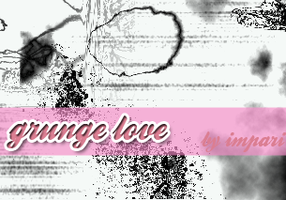 Set 24-Grunge Love - PHOTOSHOP by girlinabox