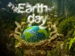 Earth Day 2014 and Clouds text effect. by AlexandraF
