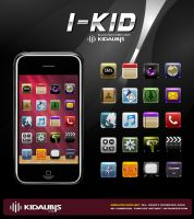 I_KID ICONS FOR IPHONE by kidaubis