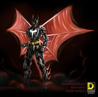 Overpowered Batman Dark Force by dnhart13