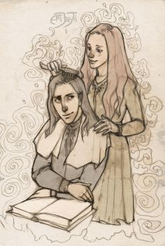 Severus and Lily. Read aloud by ArtJayTi
