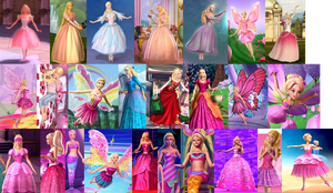 Barbie Movies: 2001 - 2012 by sailormoonhp4life