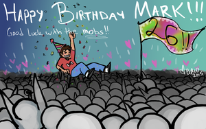 Markiplier Birthday2015 by Bridgeotto