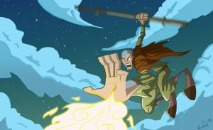 Aang is Super Fly by KIRKparrish