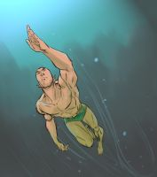 Namor swims by gattung