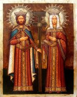 St. S. Constantine and Helena by GalleryZograf