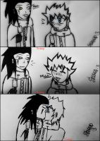 Axel and Roxas - Collage 2 :3 by Sweepzebrine