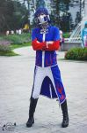 Optimus Prime humanized Cosplay by akira92414