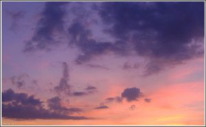 Painted sky by Iuliaq