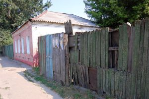 House and fence by saltov-man