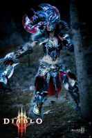 Barbarian diablo 3 female by JohnBetita