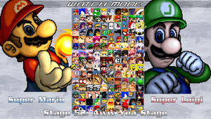 Mugen Roster 2012 by DarkBonesHT