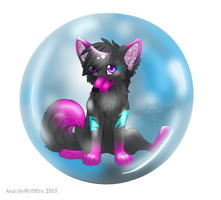 Bubble-commission-krissi by AnarchyWolfKira