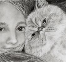 Pose With a Cat by Kokako