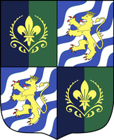 Coat of Arms of Arendelle-Sweden Union by otakumilitia