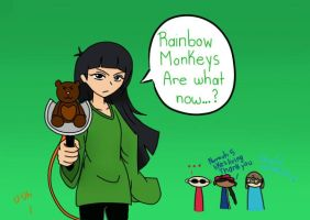 Rainbow Monkeys are what now...? by LilithShiro